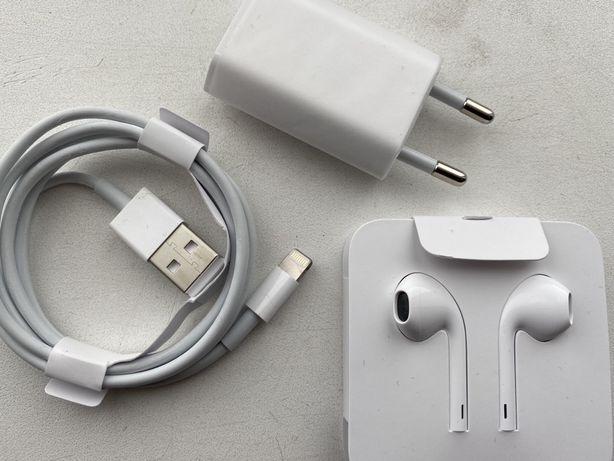 Apple Earpods Apple Lightening Apple Charger adapter