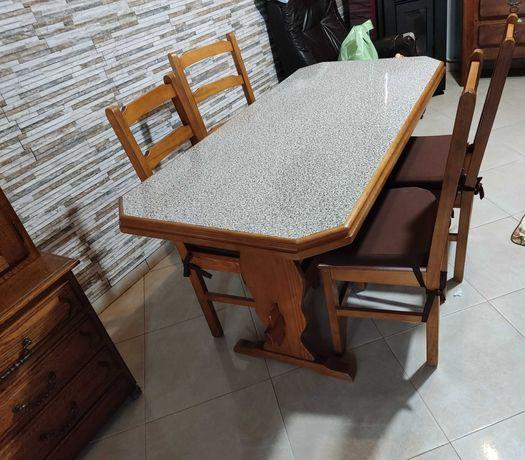 Mesa de cozinha + Mesa de sala