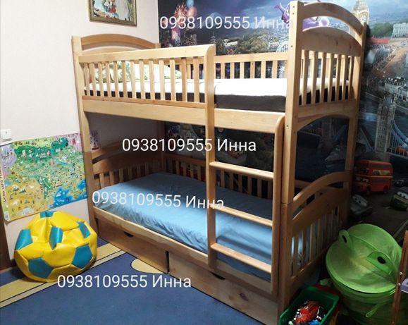 Великі знижки, Двухъярусная кровать Карина Люкс %односпальная% Адель