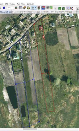 Земельный участок (с ветхим домом) в с. Борщев