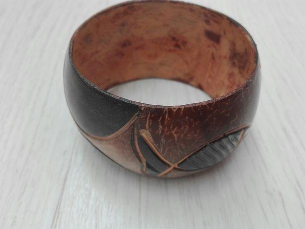 Afrykańska bransoleta/obrecz na rękę