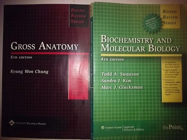 BRS Gross Anatomy Kyung Won Chung Biochemistry And Molecular Biology