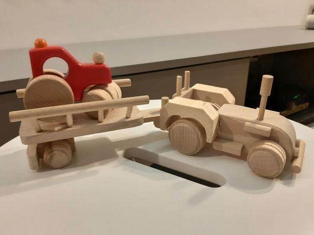 Traktor drewniany samochód bajo