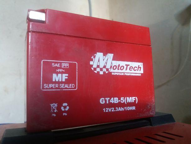 Аккумулятор GT4B-5(MF) (12V2.3AH) Mototech