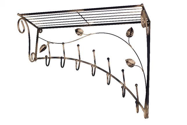 Вішак металевий косий, прямий + доставка, вешалка металическая ковка