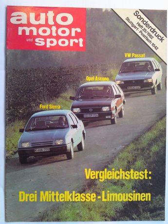 Auto Motor u. Sport Dodatek specjalny 25/1982