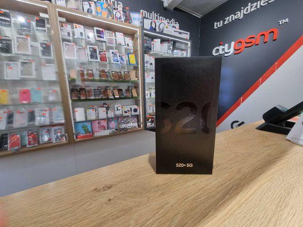Nowy Samsung Galaxy S20 Plus 5G 12/128GB - Cosmic Black [Sklep Kraków]