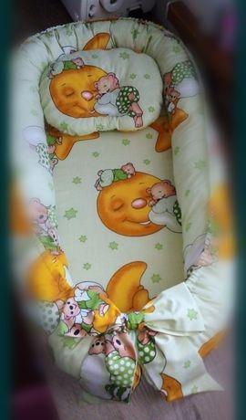 На подарок!!! Кокон-гнездышко с ортопедической подушкой.