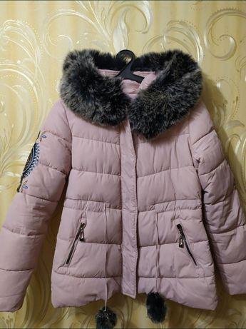 Куртка зимняя с мехом