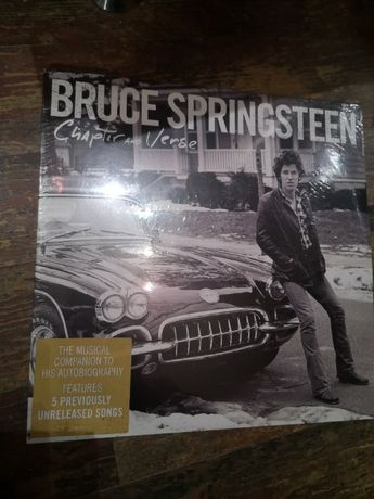 Bruce Springsteen chapter and Verse 2 x winyl