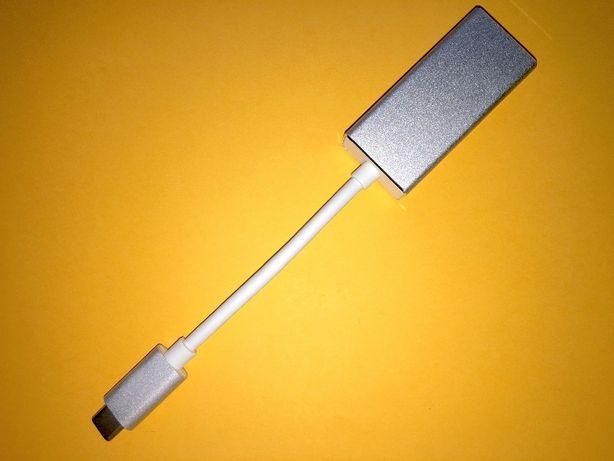 Переходник USB type C на Mini DisplayPort, подключите экран MDP, DP 4K