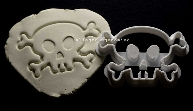 Foremka wykrawacz do ciastek HALLOWEEN czaszka