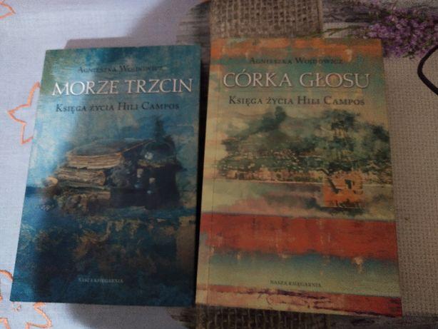 Morze Trzcin+Córka głosu- Agnieszka Wojdowicz 2książki