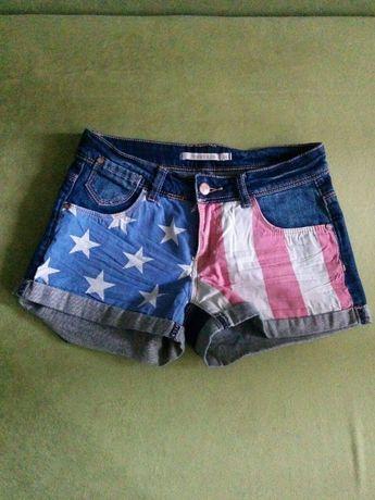 джинсовые шорты на девочку-подростка