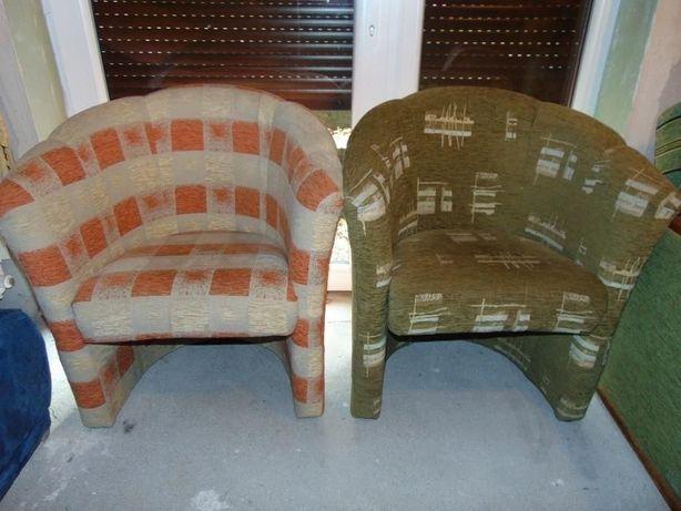 Fotel pufa z oparciem fotel kubełkowy