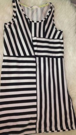 Sukienka i koszulka na ramiączka H&M rozm. 146-152