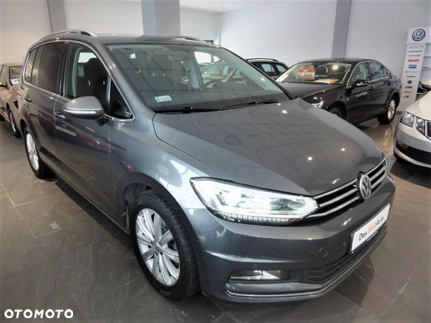 Volkswagen Touran 2.0 TDI 150 KM, Highline, 7 miejscowy, Discover Media, TOP LED, FV23%!