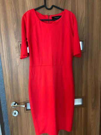 Czerwona sukienka Reserved rozm M/38