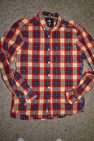 H&M- sliczna koszula w kratke 170 cm-S