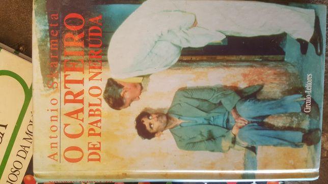 Livro O Carteiro de Pablo Neruda
