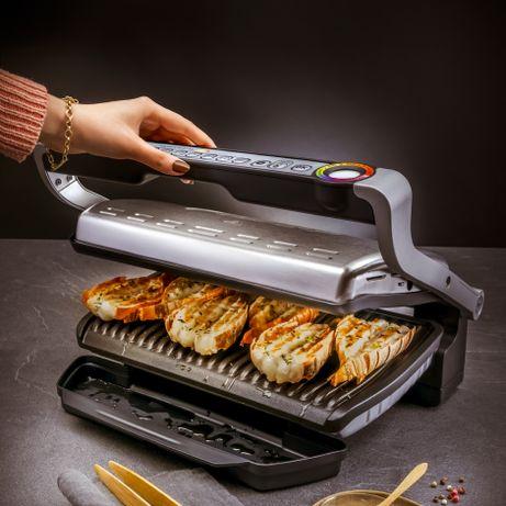 Grill elektryczny TEFAL Optigrill+ XL + Snacking&Baking stalowy GC724D
