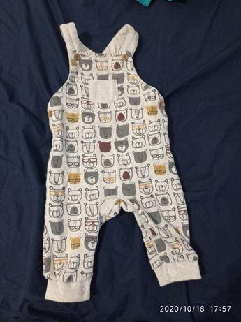 Body bluzki spodnie niemowlęce 68
