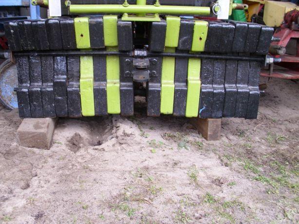 przedni obciążnik do ciągnika zawieszny zetor przód 700kg z mocowaniem