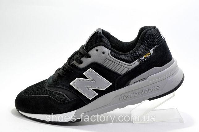 Кроссовки мужские New Balance 997H Classic, Чёрный/Серый, купить