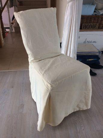 Capa para cadeira de jantar - semi novo