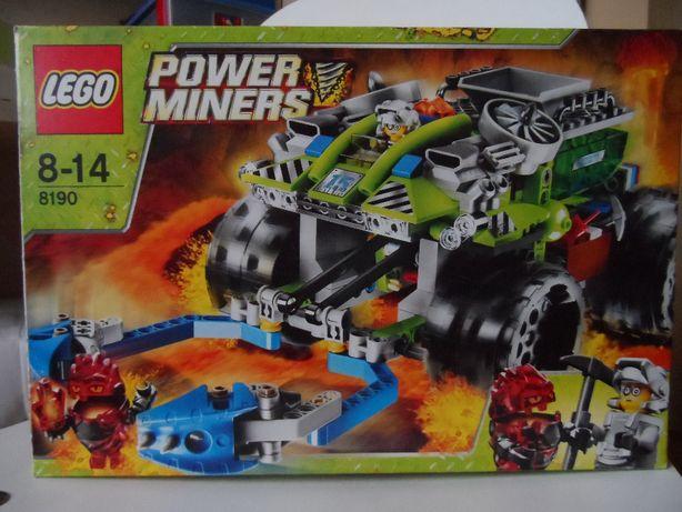 Zestaw klocków Lego Power Miners 8190 Chwytacz