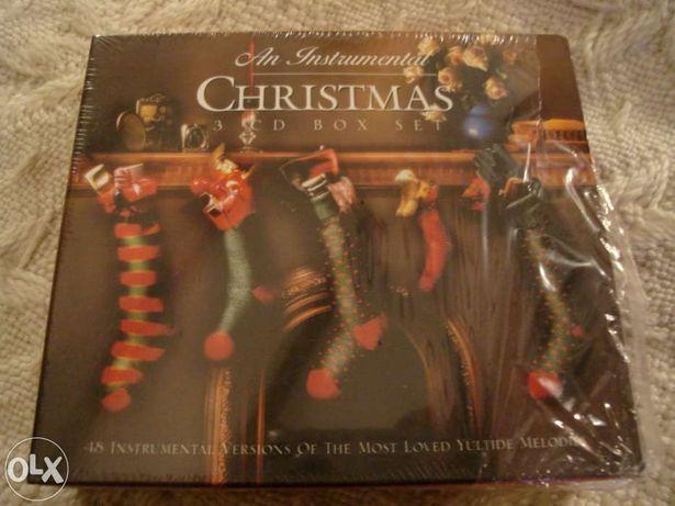 cd de an instrumental christmas, caixa com 3 cds