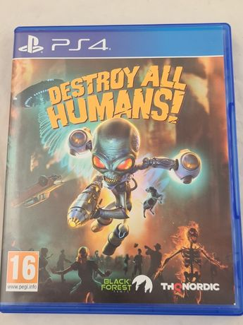 Gra PS4 DESTROY ALL HUMANS PS4 PL | Plus Lombard Grottgera 5
