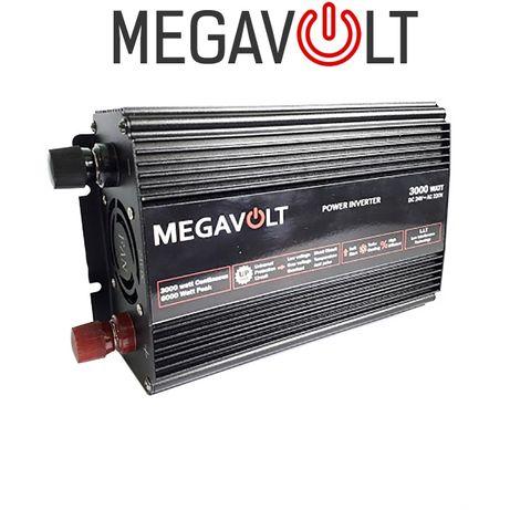Преобразователь напряжения 24v 220v 3000W MEGAVOLT для мультиварки