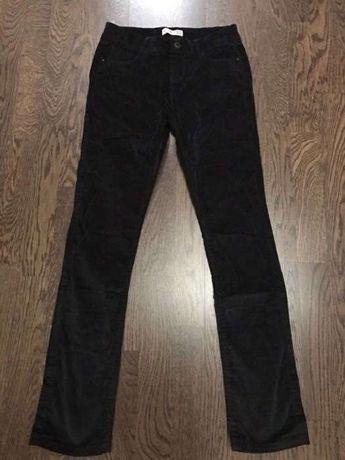 Микровельветовые брюки OKAIDI Slim для девочки 12лет (152см)
