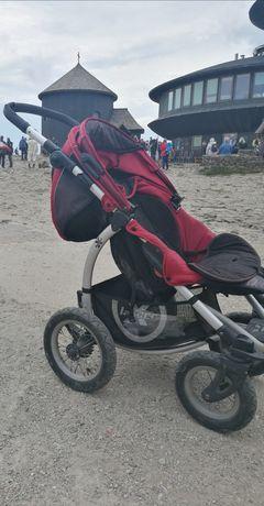 Wózek gondola, spacerówka plus akcesoria