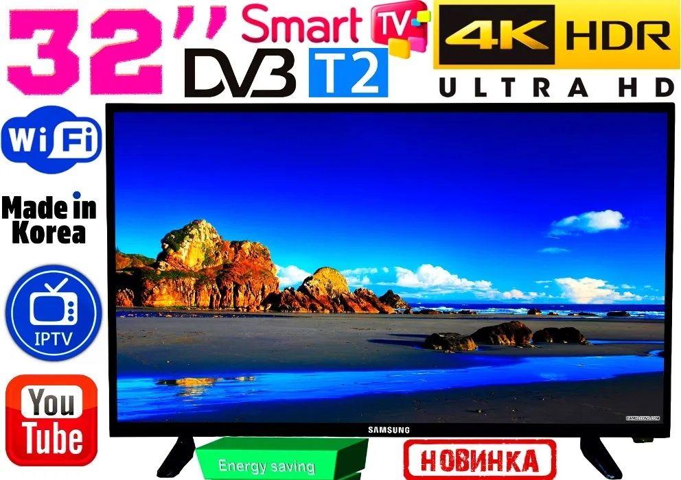 4K телевизоры Samsung SmartTV 32' 3840x2160, 2/8GB, Android,WIFI КОРЕЯ Запорожье - изображение 1
