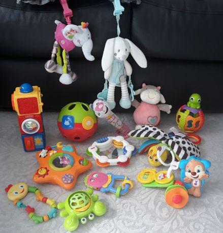Zestaw zabawek dla niemowląt i dzieci, grające, świecące, sensoryczne