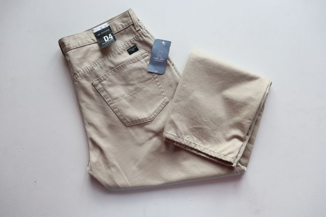 Spodnie męskie jeansy Dockers Khaki W38 L32. Nowe z metkami