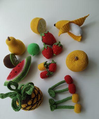 Вязаные фрукты, игрушка.