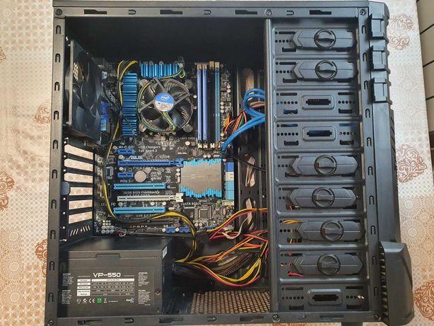 Игровой компьютер PC, Intel i5-3570, Asus P8Z77-V, Kingston DDR3-1600