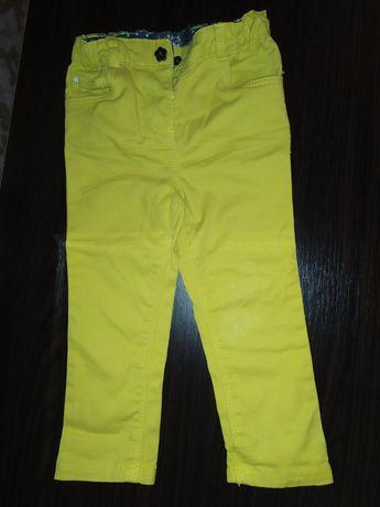 Катонові штани для дівчинки 1,5-2 роки