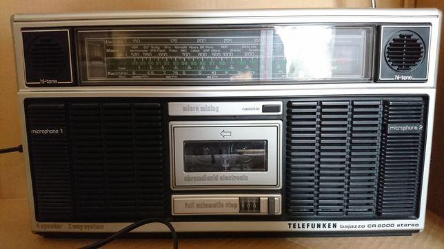 Radiomagnetofon Telefunken bajazzo CR 8000