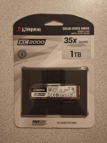 Nowy dysk SSD Kingston KC2000 1TB M.2 2280 NVMe