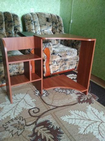 Полка для стола под монитор+стол