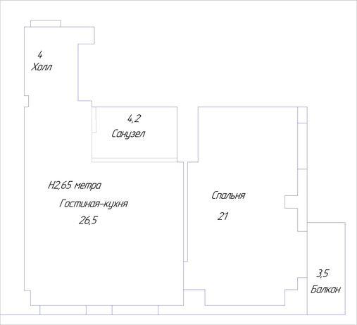 Продам 2к квартиру в новострое ЖК Гауди Холл  метро Проспект Гагарина