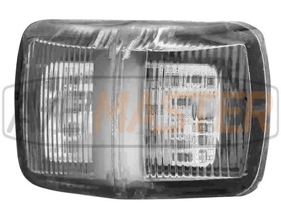 Sinalizador Lateral LED White 12-24V E9 c/1,5mt cabo. Ref 022134