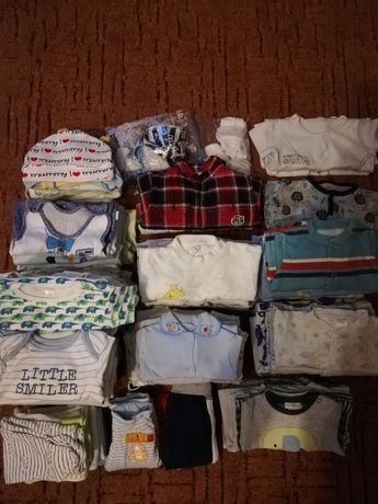 Ubranka dla chłopca 50,56,62,68