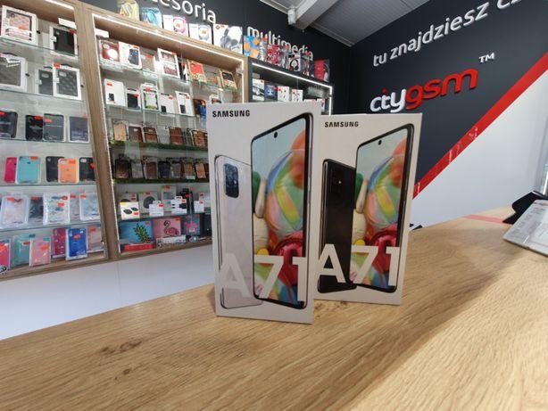 Nowy Samsung Galaxy A71 Dual SIM Prism Crush Black Sklep Kraków