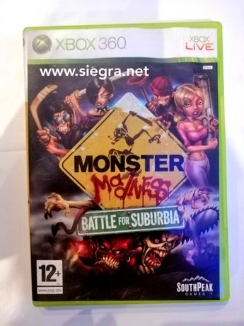 Monster Ma dness Battle for Suburbia Xbox 360