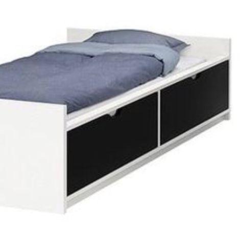 Cama Flaxa IKEA com gavetas